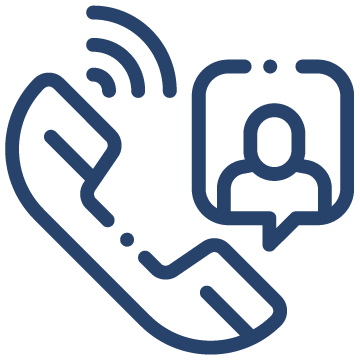 VOIP Icon Blue